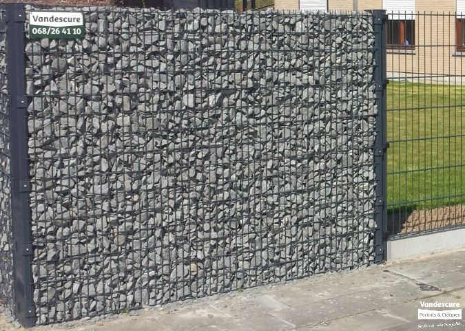 cl ture en gabion s a michel vandescure. Black Bedroom Furniture Sets. Home Design Ideas