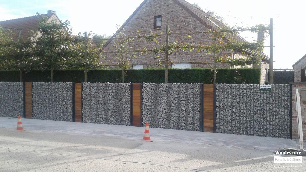 Clôture en Gabion - S.A. Michel Vandescure