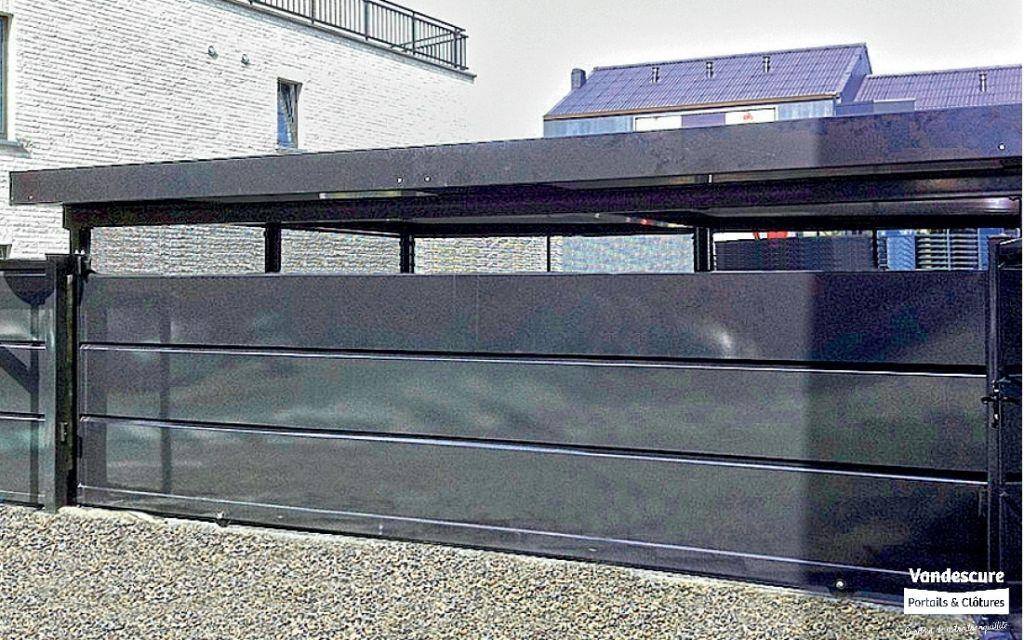 portail coulissant horizon s a michel vandescure. Black Bedroom Furniture Sets. Home Design Ideas
